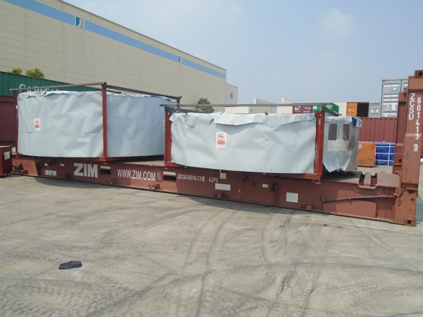 亚东供应链-设备装箱