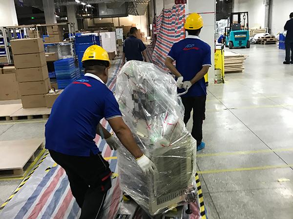 亚东供应链-员工运货